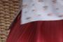 Jupe-ballon-rose-chemisier-fleurs
